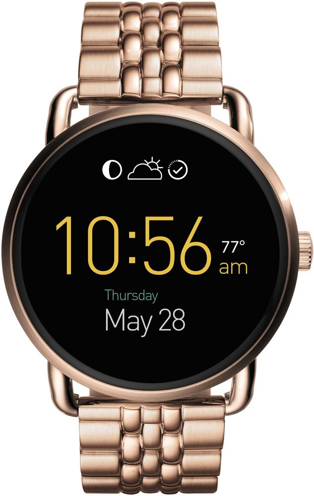 Zegarek damski Q Wander Smartwatch Fossil FTW2112