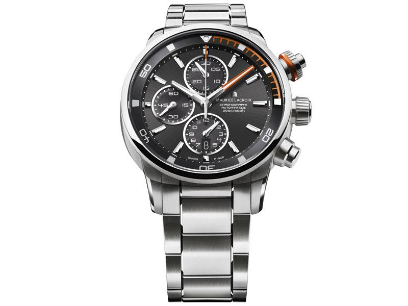 Zegarek męski Maurice Lacroix Pontos S PT6008-SS002-332